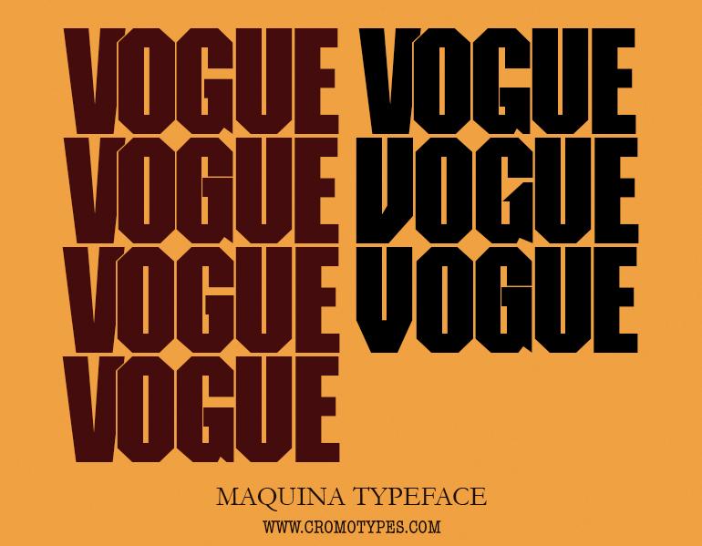 MAQUINA-Vogue