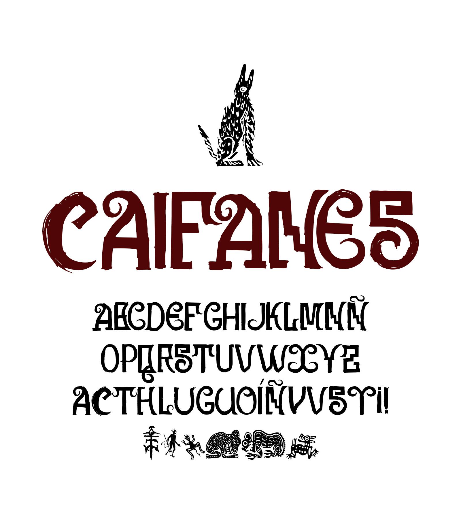 Caifanes_tipografia