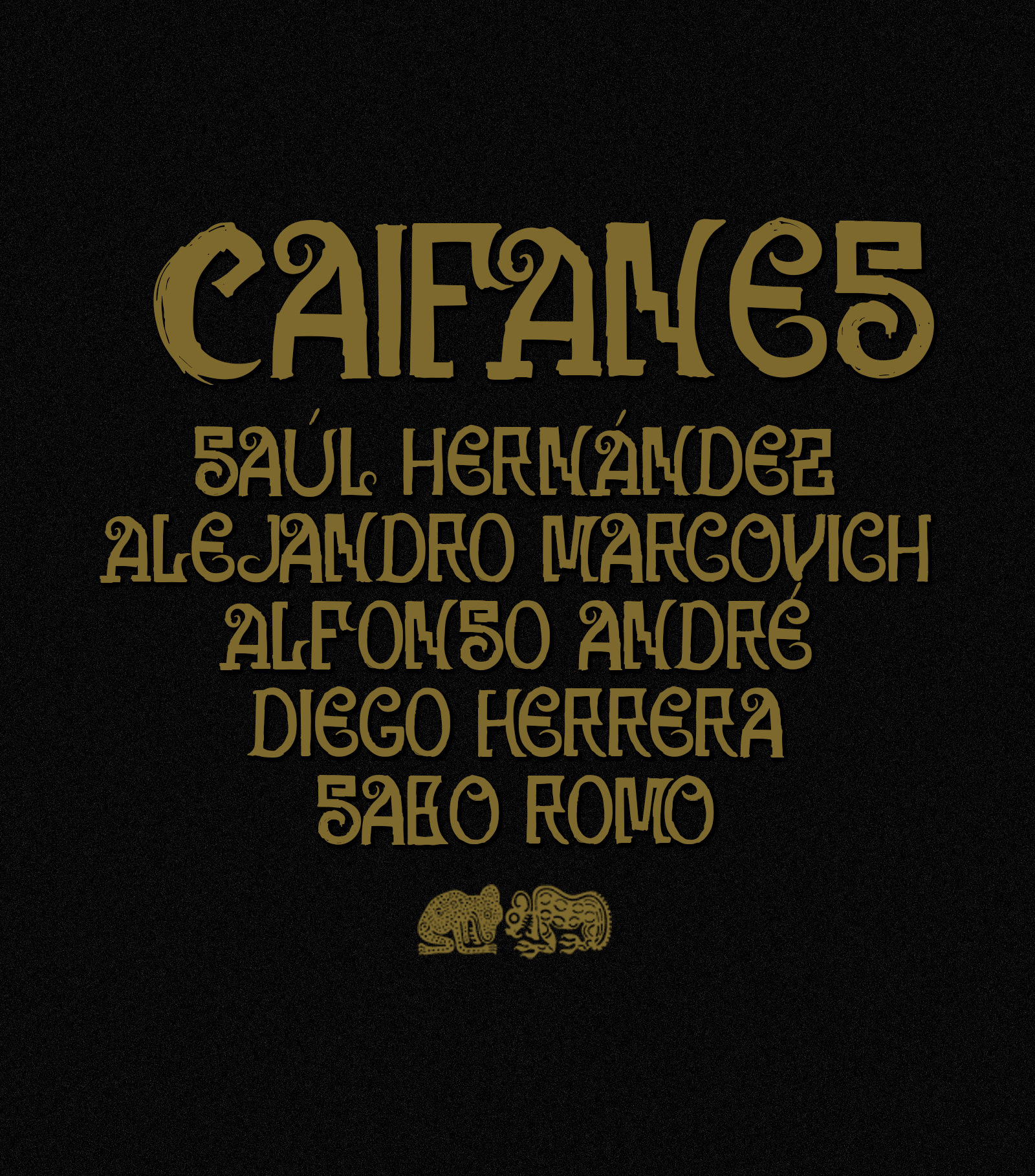 Caifanes_typography